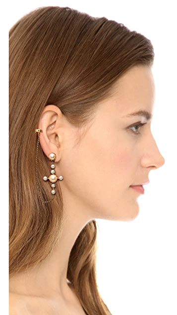 Erickson Beamon Cross Ear Cuff