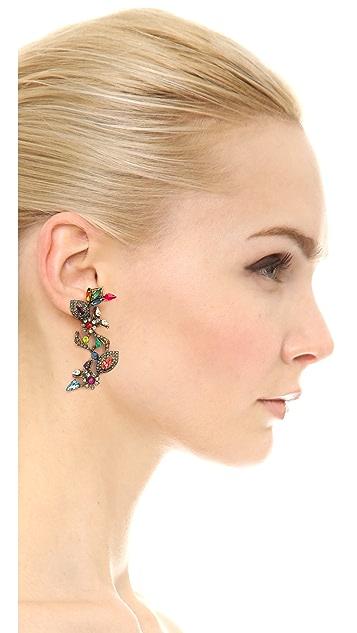 Erickson Beamon Telepathic Crystal Earrings
