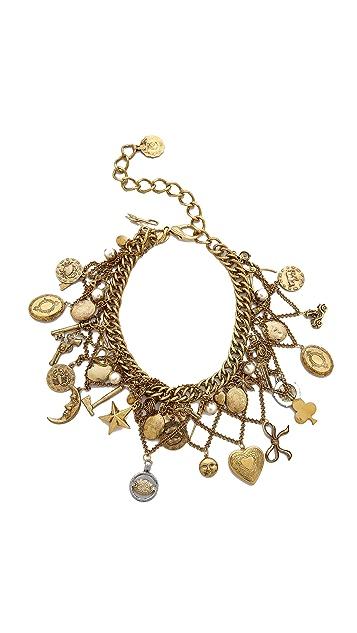 Erickson Beamon My Beloved Charm Lariat Necklace