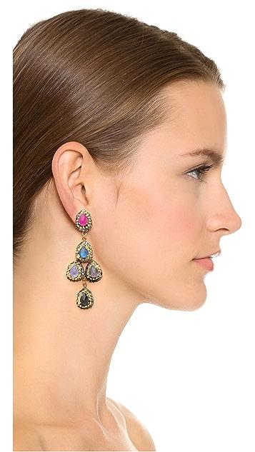 Erickson Beamon Teardrop Earrings