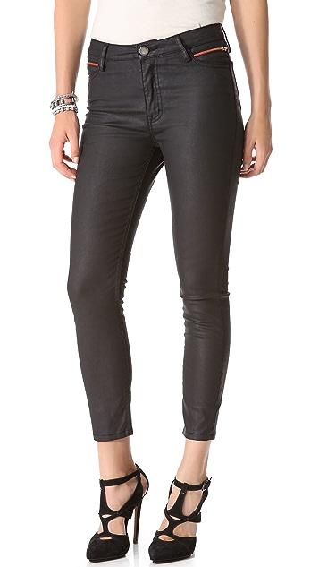 Etienne Marcel Coated Skinny Jeans
