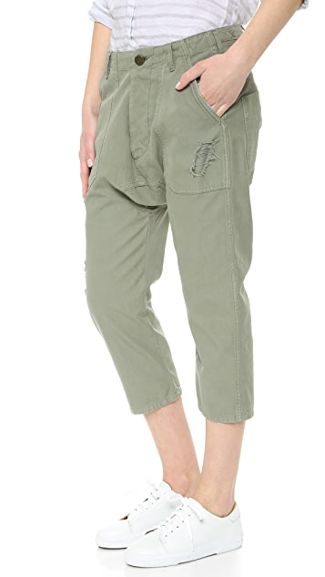 Etienne Marcel Slouchy Military Pants