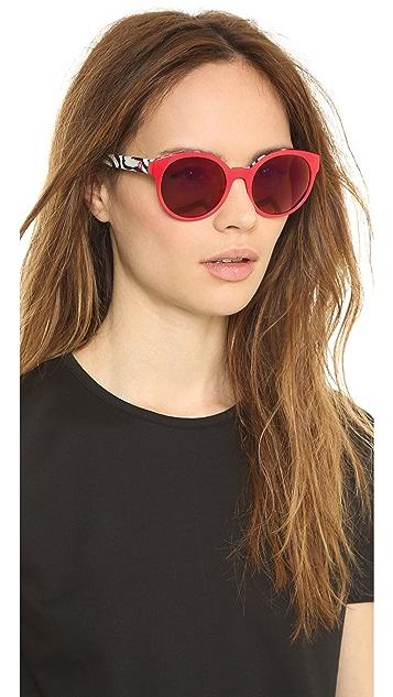 Etnia Barcelona Africa 01 Mirrored Zebra Sunglasses