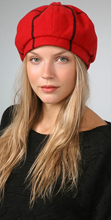 Eugenia Kim Chloe Plaid Beret