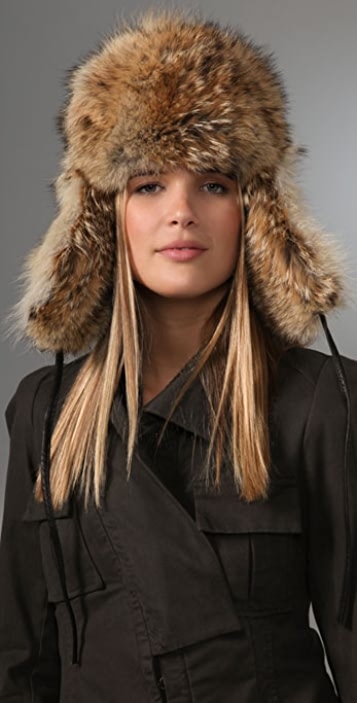 Eugenia Kim Owen Fur Trooper Hat