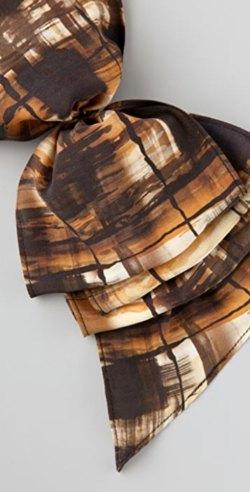 Eugenia Kim Print Kelly Ruffled Barrette