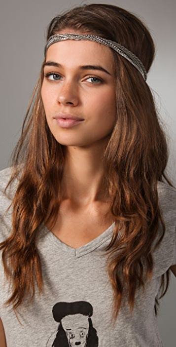 Eugenia Kim Silver Seraphina Headband