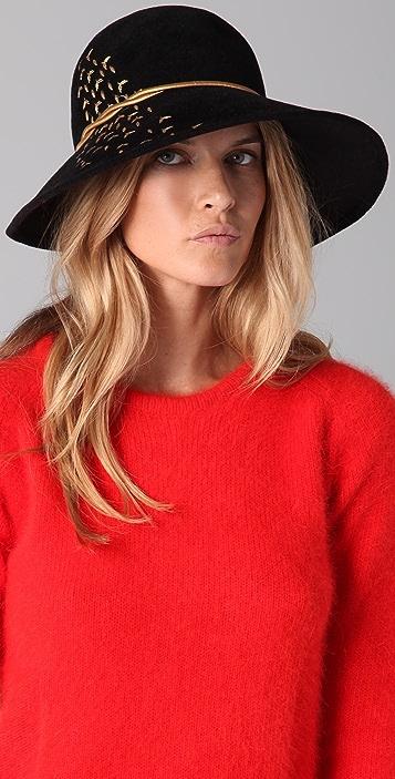 Eugenia Kim Carly Boho Leaf Hat