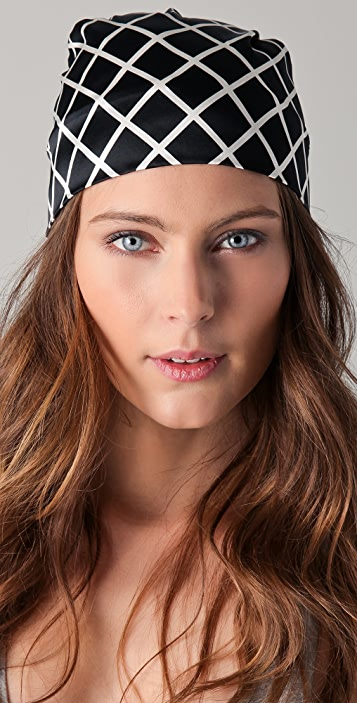Eugenia Kim Gigi Print Headscarf