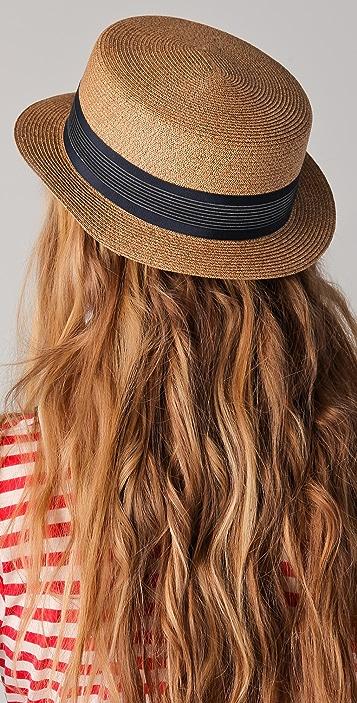 Eugenia Kim Marcel Toyo Boater Hat