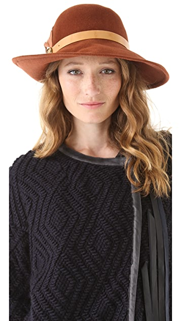 Eugenia Kim Carly Large Brimmed Cloche
