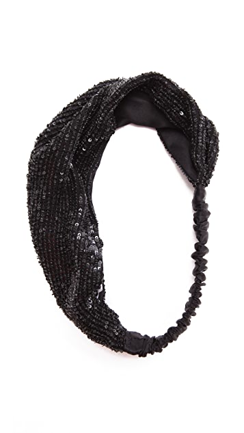 Eugenia Kim Daniella Mini-Sequin Headband