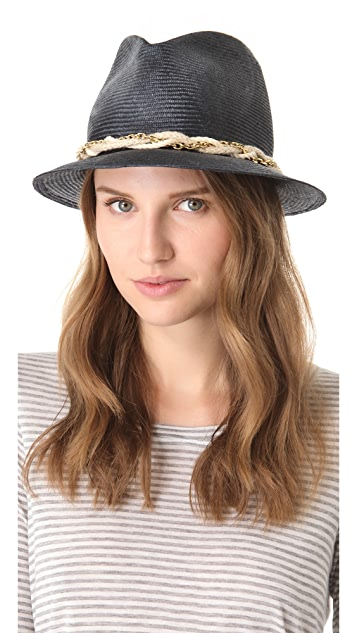 Eugenia Kim Max Braided Chain Fedora