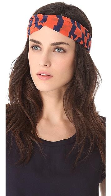 Eugenia Kim Genie by Eugenia Kim Penny Stripe Turban Headband