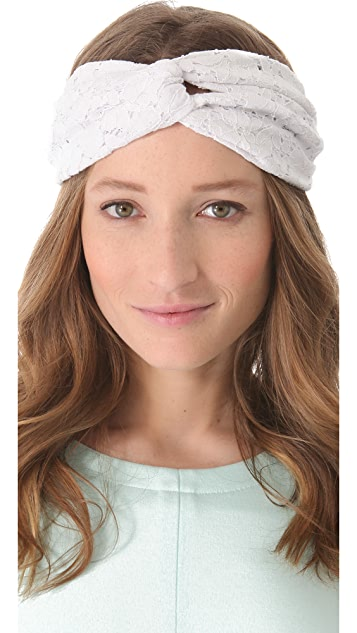 Eugenia Kim Genie by Eugenia Kim Penny Lace Turban Headband  d53af7a1a70