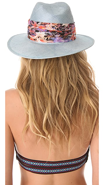 Eugenia Kim Bianca Hat with Floral Band