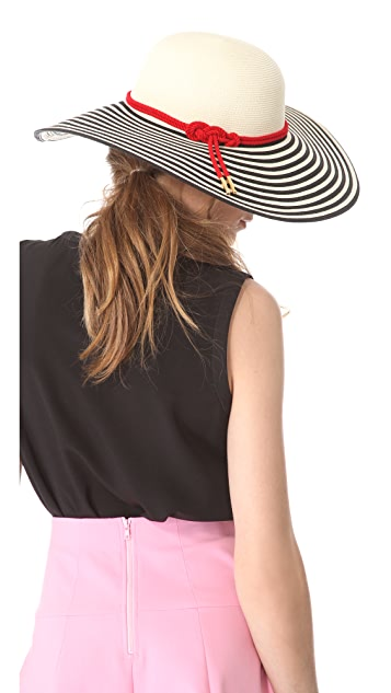 Eugenia Kim Bunny Striped Sunhat