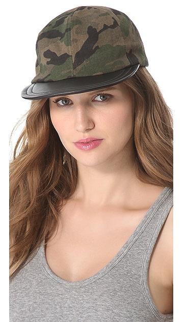 Eugenia Kim Darien Camo Baseball Cap