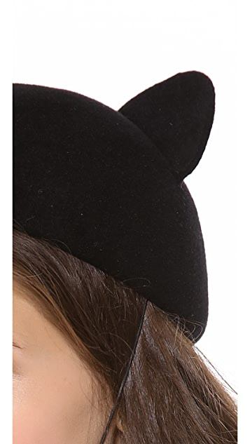 Eugenia Kim Caterina Cat Ear Cap