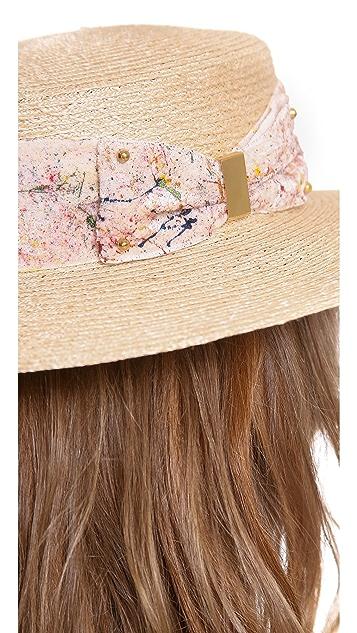 Eugenia Kim Brigitte Boater Hat