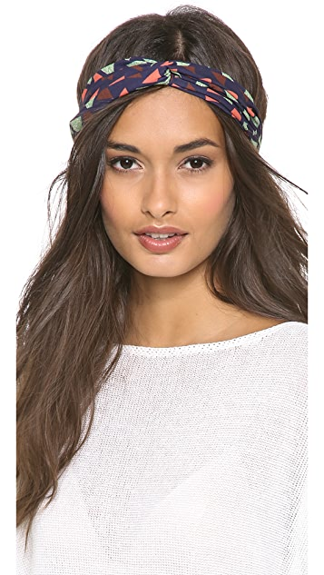 Eugenia Kim Genie Geo Print Turban Headband