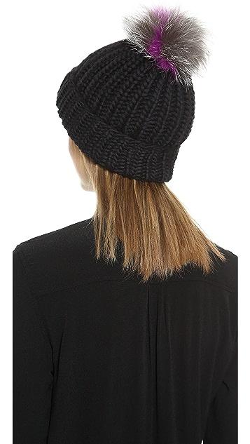 Eugenia Kim Rain Pom Pom Hat