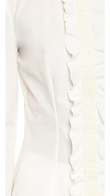 Emanuel Ungaro Long Sleeve Blouse