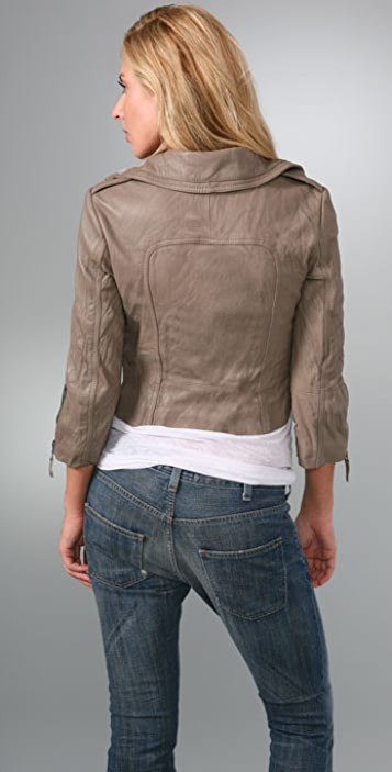 Ever Detroit Leather Motorcycle Jacket