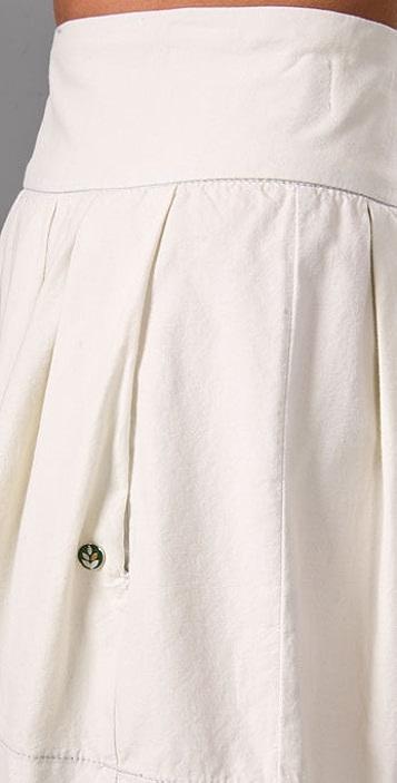 Ever Stillwater Chambray Skirt