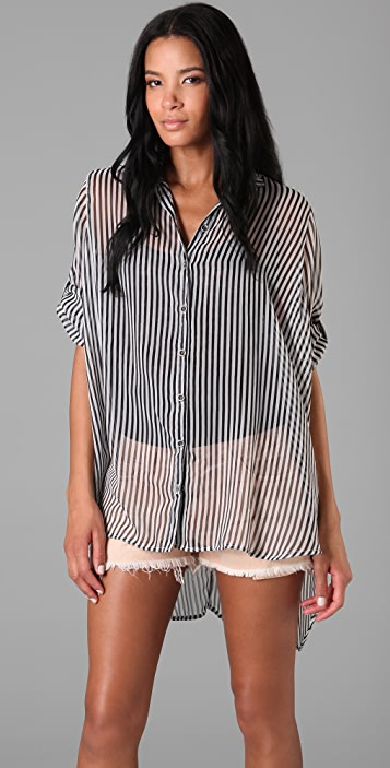 Evil Twin Striped Lost Prophets Shirt