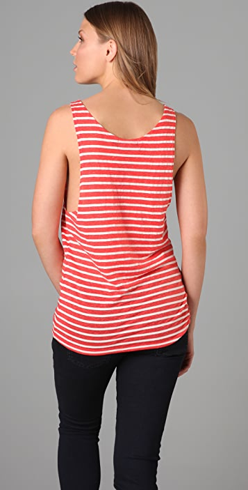 Evil Twin Tarred & Feathered Stripe Tank