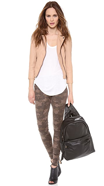 EVLEO Camo Half Baggy Leggings
