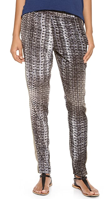 EVLEO Printed Baggy Slim Fit Leggings