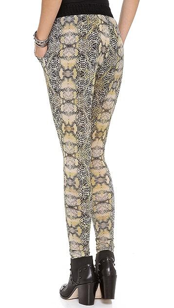 EVLEO Snake Trousers
