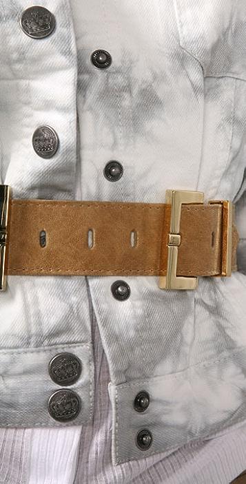 Elegantly Waisted Double Buckle Belt