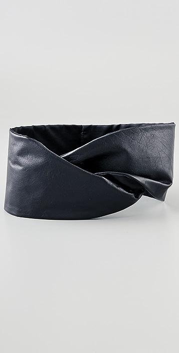 Elegantly Waisted Twist Belt