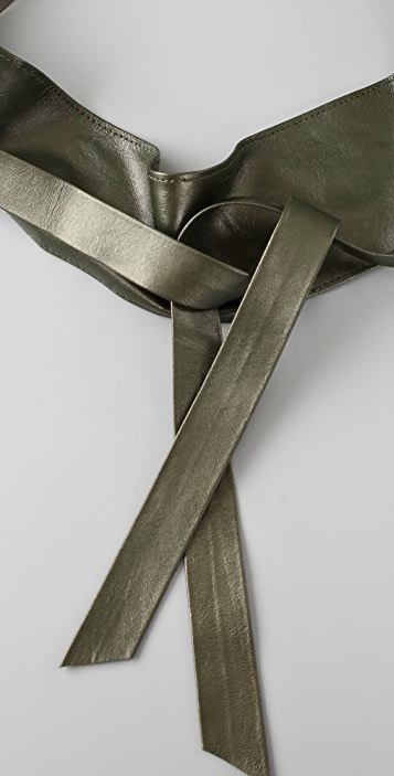 Elegantly Waisted Cummerbund Belt