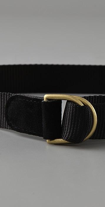 Elegantly Waisted Military Belt