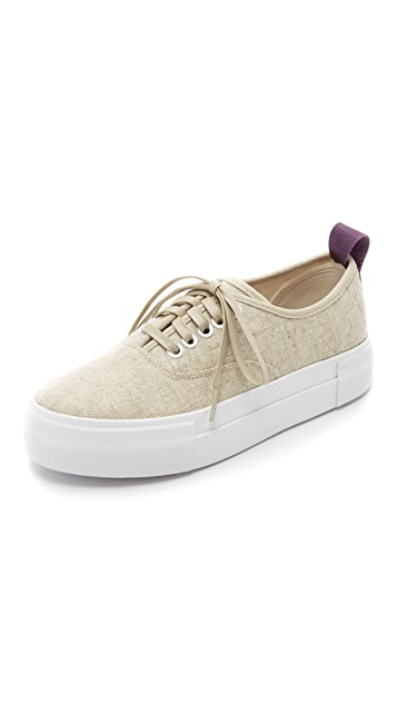 Eytys Mother Linen Sneakers