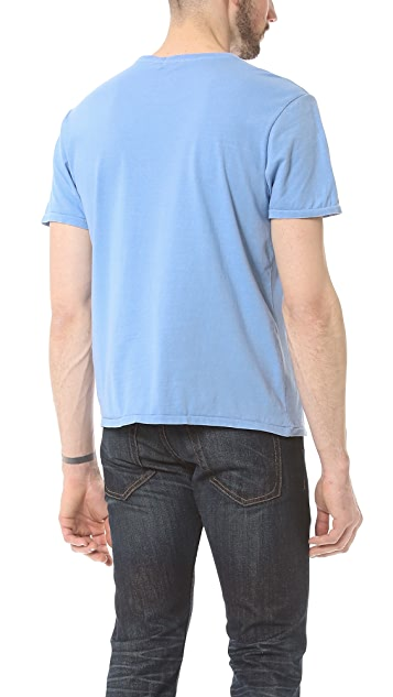 Faherty Pocket Crew T-Shirt