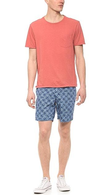 Faherty Moonlight Batik Board Shorts