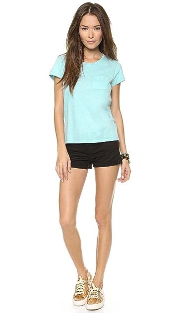 Faherty Pocket Crew Neck T-Shirt