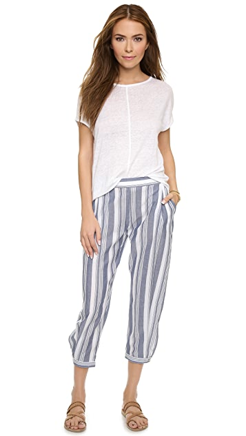 Faherty Acadia Stripe Harem Pants