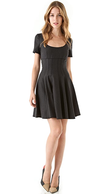 Faith Connexion Empire Pleated Dress