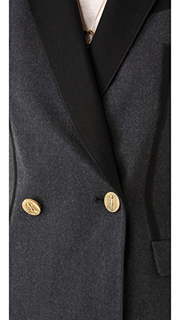 Faith Connexion Two Button Wool Blazer