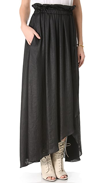 Faith Connexion Fluid Skirt with Straps