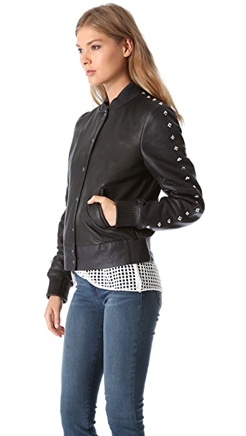 Faith Connexion Studded Teddy Jacket