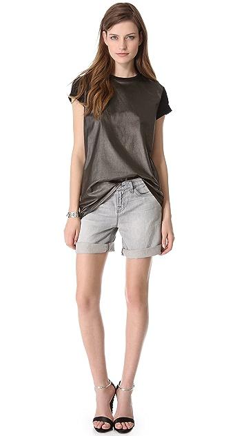 Faith Connexion Coated Jersey T-Shirt
