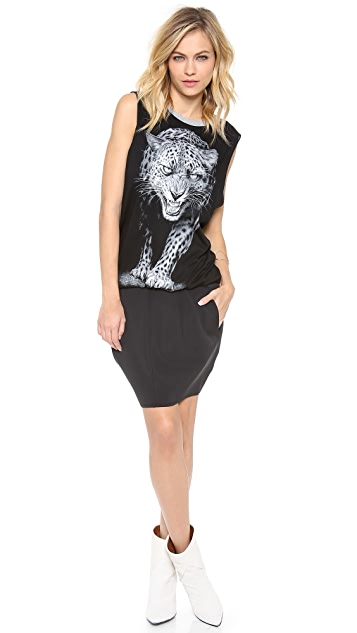 Faith Connexion Tiger Print Dress