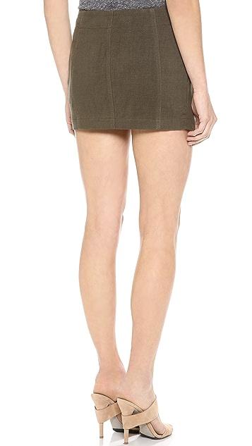 Faith Connexion Pleated Miniskirt